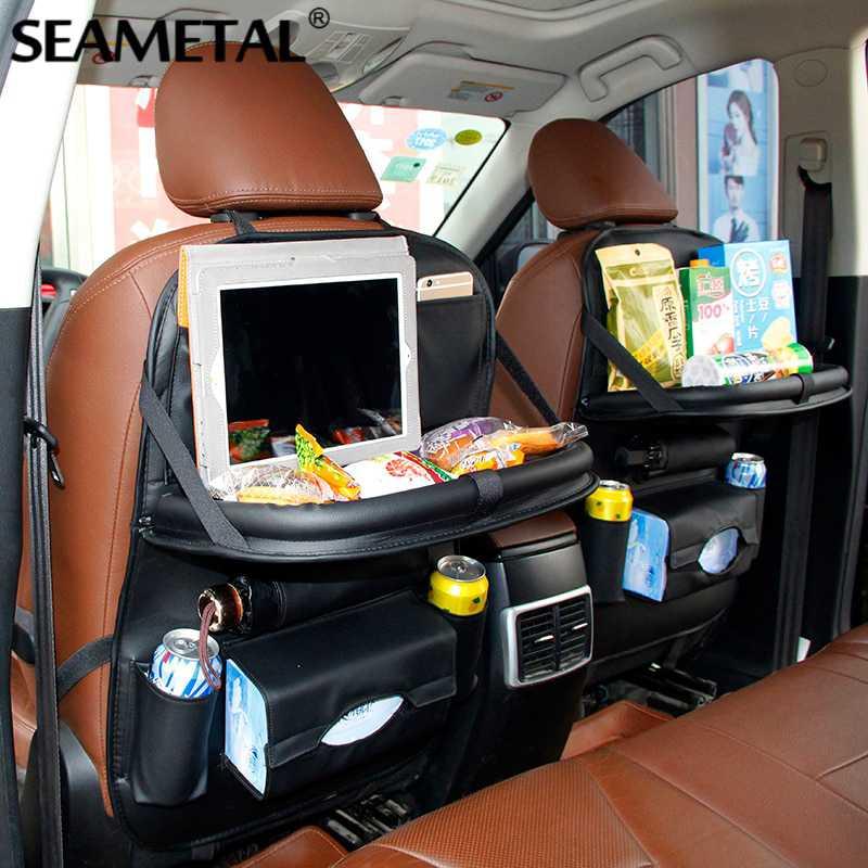 Tas Gantung Kursi Belakang Mobil Backseat Organizer dengan Meja