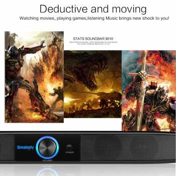 Smalody Multimedia Bluetooth Soundbar Home Theater - YXSM9010BT
