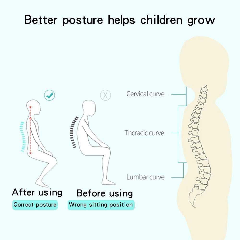 Kids Sitting Writing Posture Corrector Straightener Anti-myopia H0147