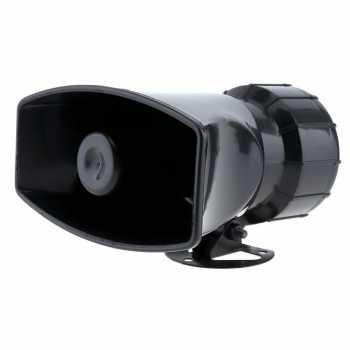 GZLASITING Toa Megaphone Loadspeaker Horn 7 Tone Sirene - HW-1006