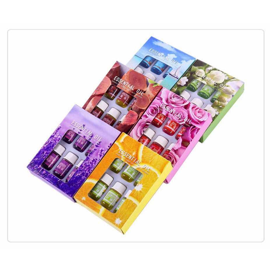 Minyak Aromatherapy 3ml 6 PCS Taffware HUMI Essential Oils