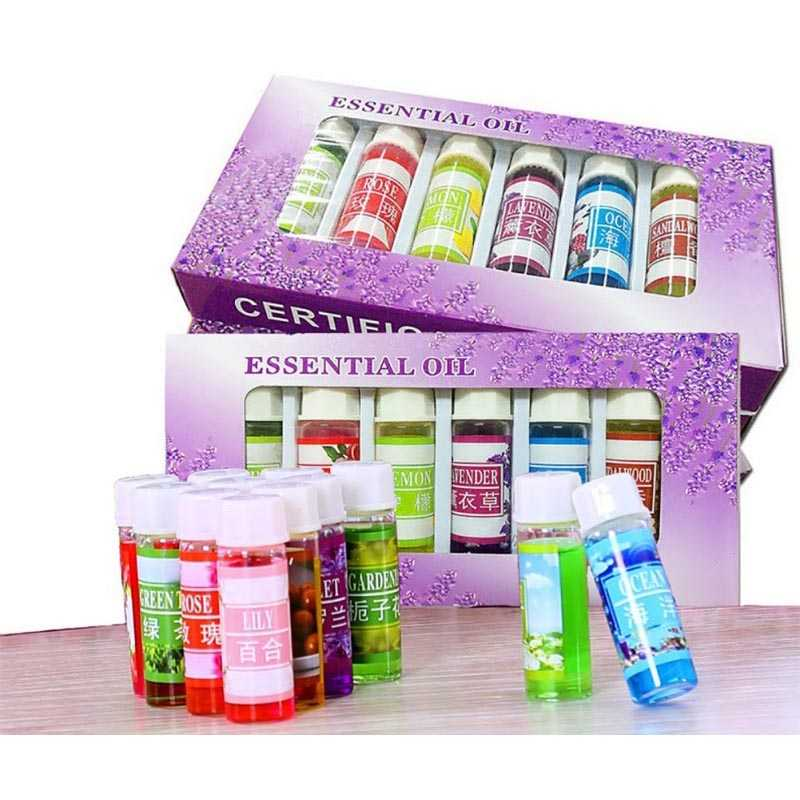 Minyak Aromatherapy 5ml Mixing 6 PCS Essential Oils