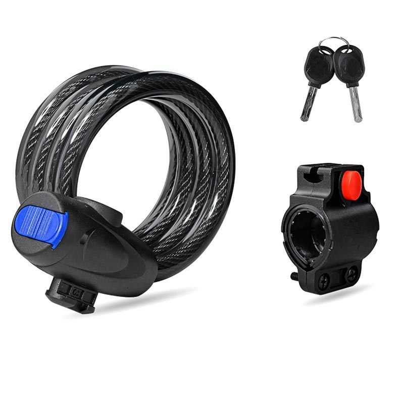 Kunci Gembok Sepeda Anti Maling Lock