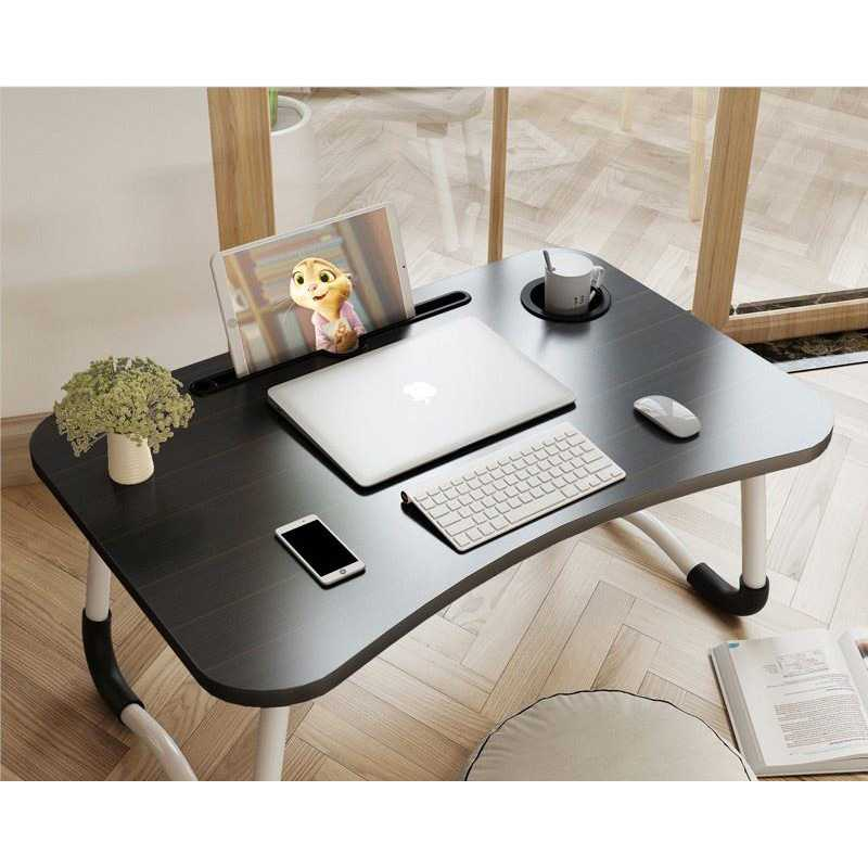 Meja Lipat Serbaguna Laptop Portable Desk Minimalist Design