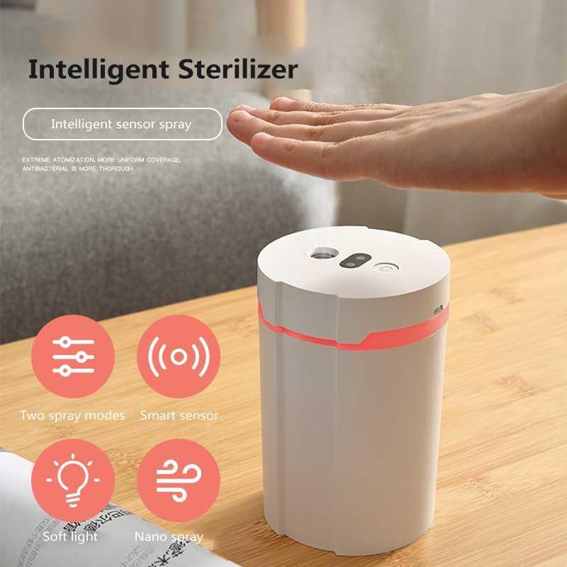 Disinfektan Smart Automatic Induction Sprayer Alcohol 280ml