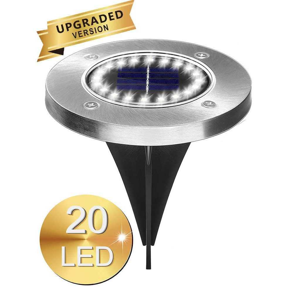 Jual Raiboho Lampu Tanam Taman Solar Power Waterproof 20 Led