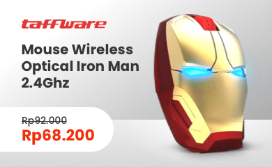 mouse wireless iron man