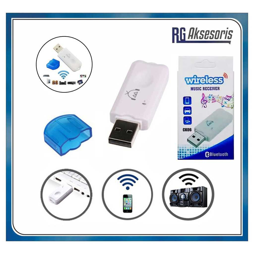 Jual Dongle Usb Bluetooth Receiver Ck06 Audio Music Tanpa Kabel
