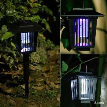 Jual Xingli Lampu Taman 2 In 1 Pembasmi Nyamuk Uv Light Solar