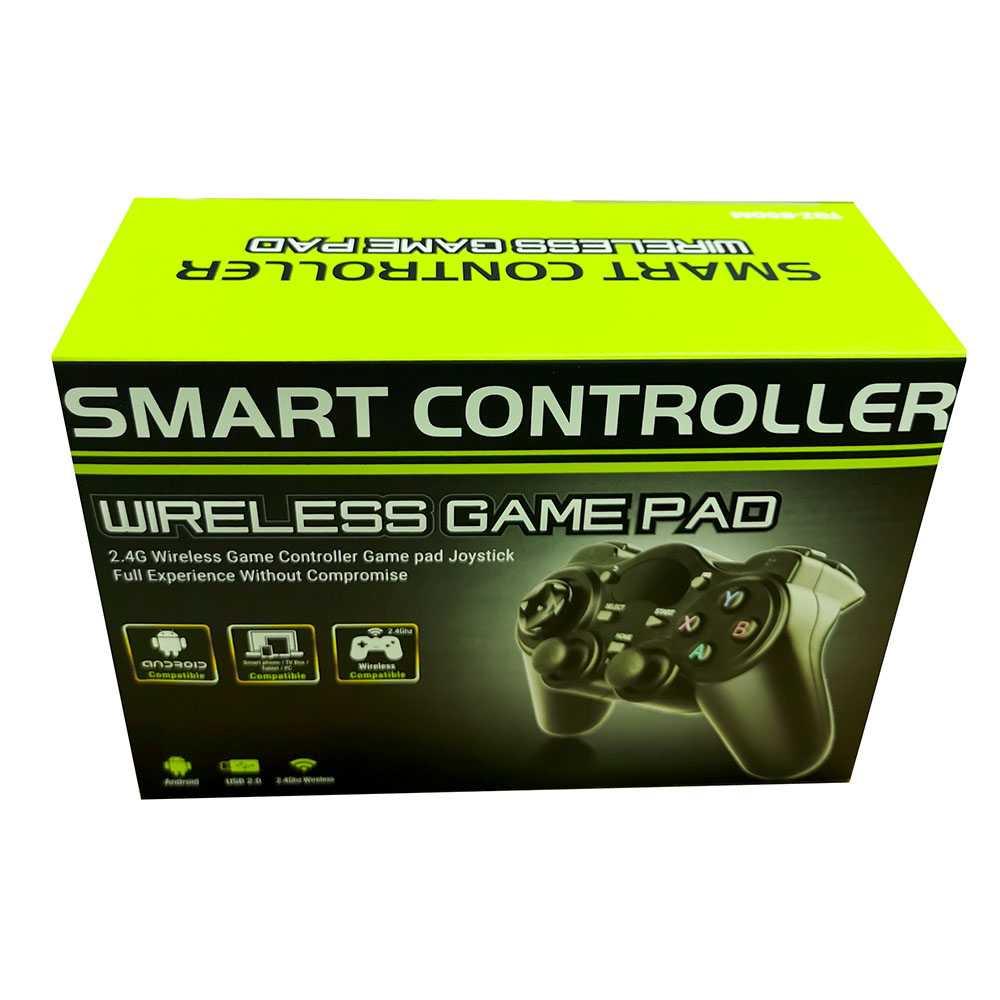 Gamepad Stik PS Wireless 2.4GHz untuk Smart TV Box, TV Android