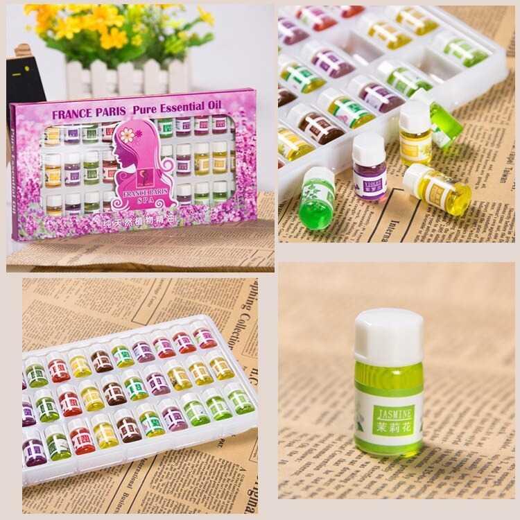 Essential Oils Minyak Aromatherapy Floral 3ml 36 PCS