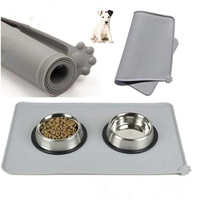 Matras Tempat Makan Kucing Anjing Pet Food Mat Hachikitty