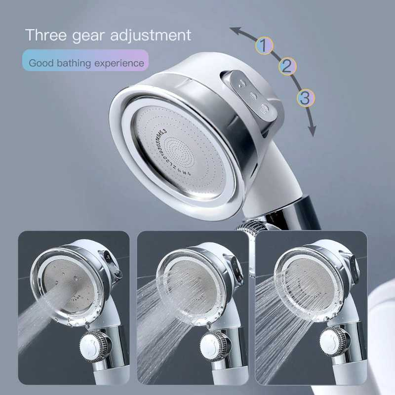 Kepala Shower Mandi Minimalist Pressurized Nozzle