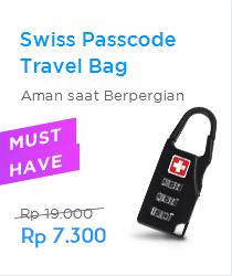 Passcode Travel Bag