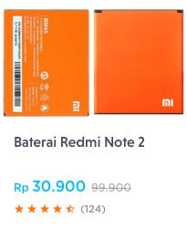 Baterai Redmi Note 2