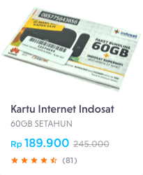 Kartu Internet Indosat