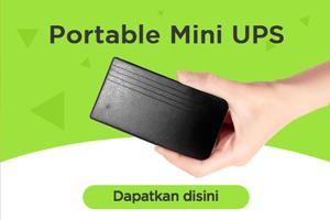 portable mini ups