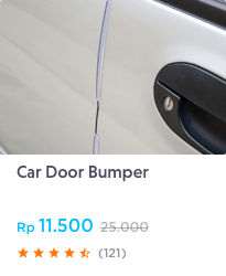 car door bumper