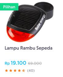 Lampu Rambu Sepeda