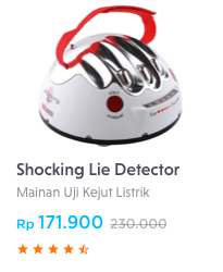 shocking lie detector