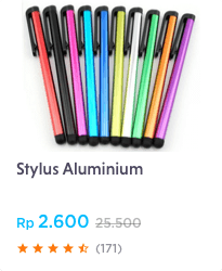 Stylus Aluminium