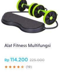 Alat Fitness Multifungsi