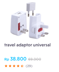 travel adaptor universal