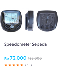 Speedometer Sepeda