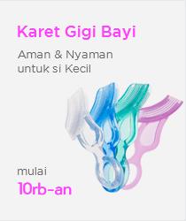 Karet Gigi Bayi