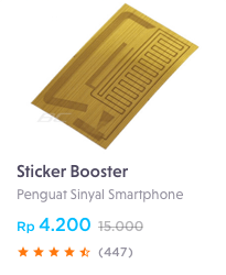 sticker booster