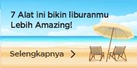 7 alat liburan pantai