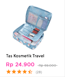 tas kosmetik travel