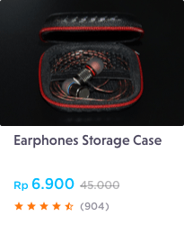 earphones storage case