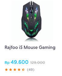 Rajfoo i5 Mouse Gaming