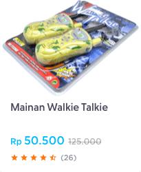 mainan walkie talkie