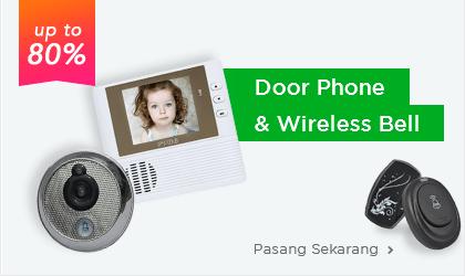 Bel dan Kamera Pintu
