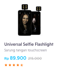 universal selfie flashlight