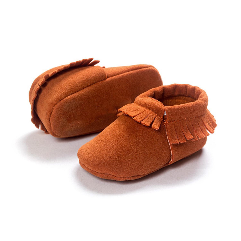 Sepatu Bayi Beludru 12CM