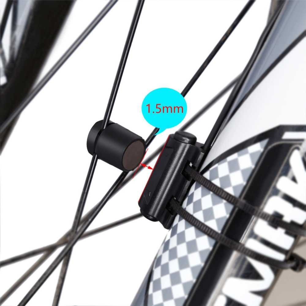 Speedometer Sepeda Backlight LCD