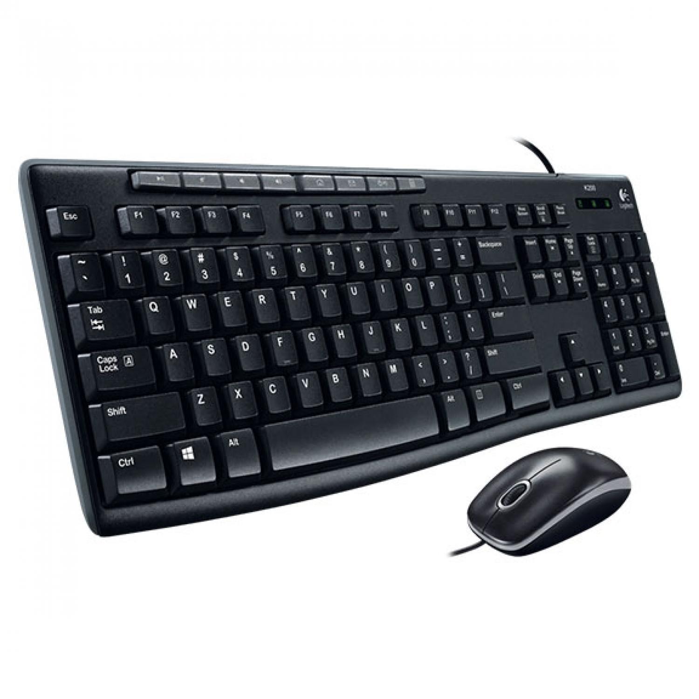 Logitech Media Combo Keyboard and Mouse - MK200