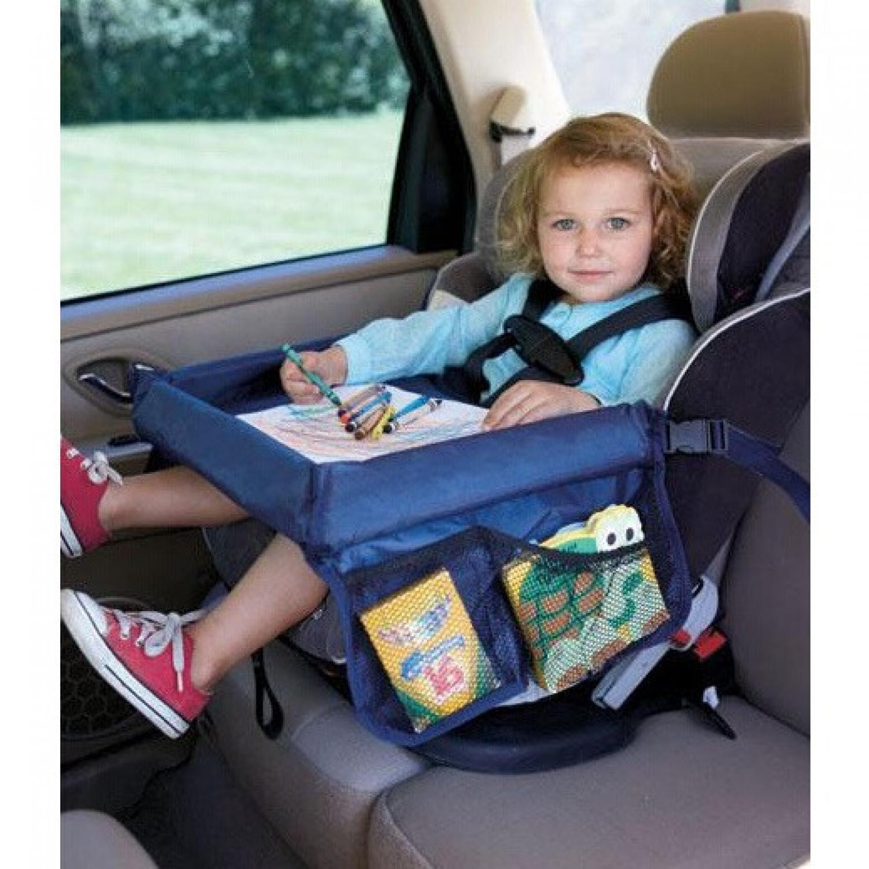Meja Mobil Bayi Waterproof Neck Tray Children Car Tablet