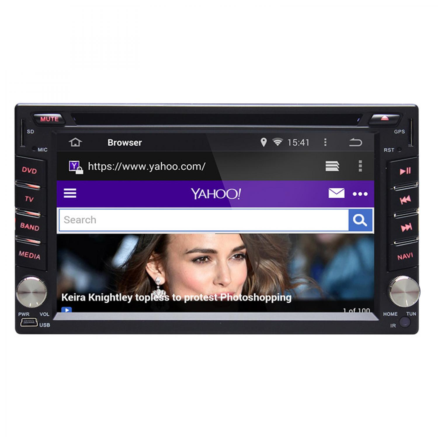 Ownice C200 Car Dashboard Audio DVD Player GPS Quad Core Android 4.4.4