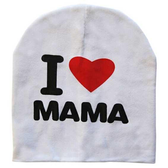 Kupluk Bayi I Love Mama