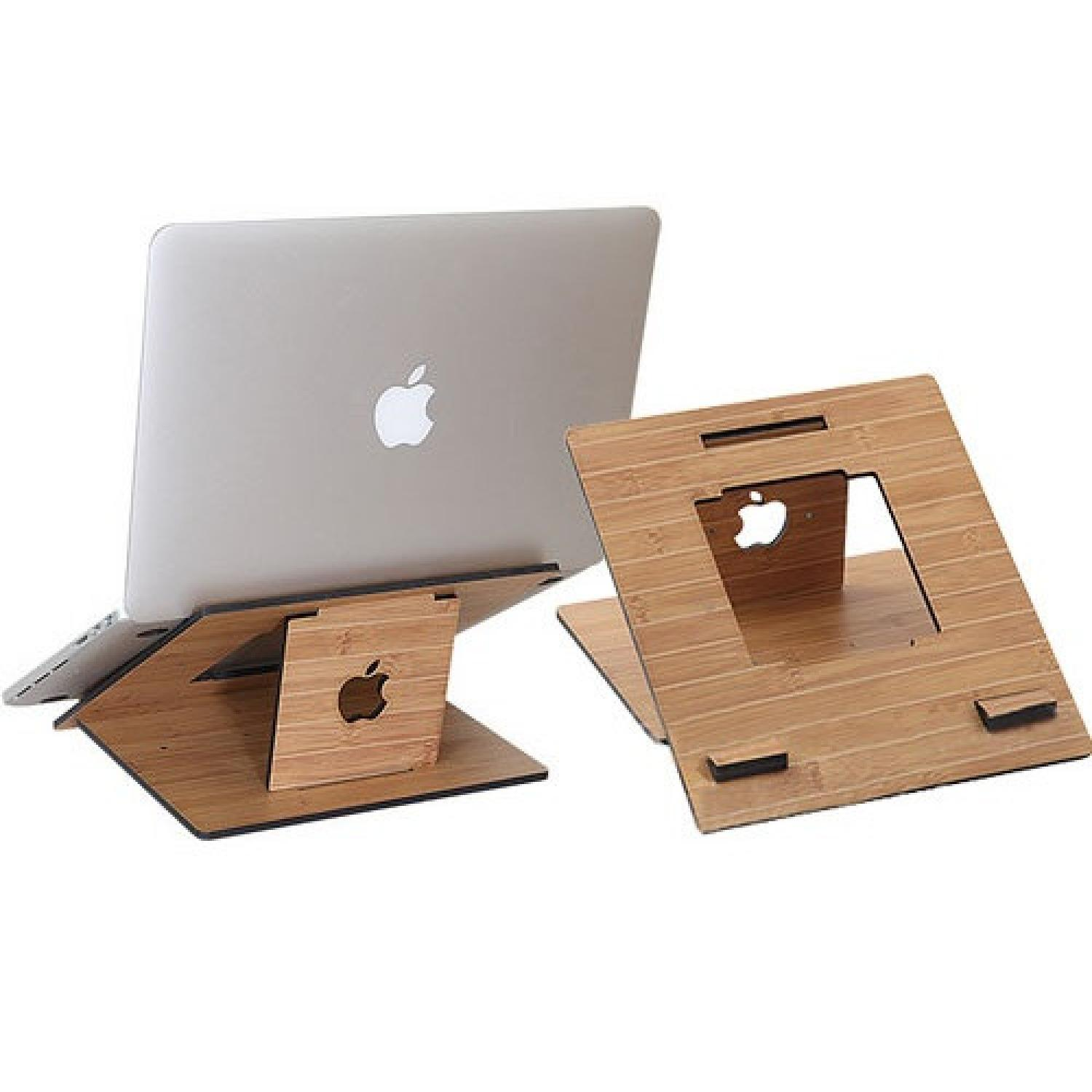 Fashion Wood Style Portable Laptop Stand