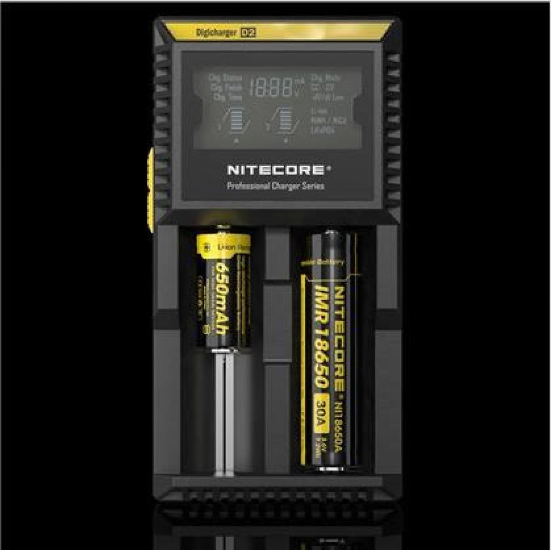 Nitecore Digicharger Battery Charger for Li-ion NiMH - D2EU / D4EU