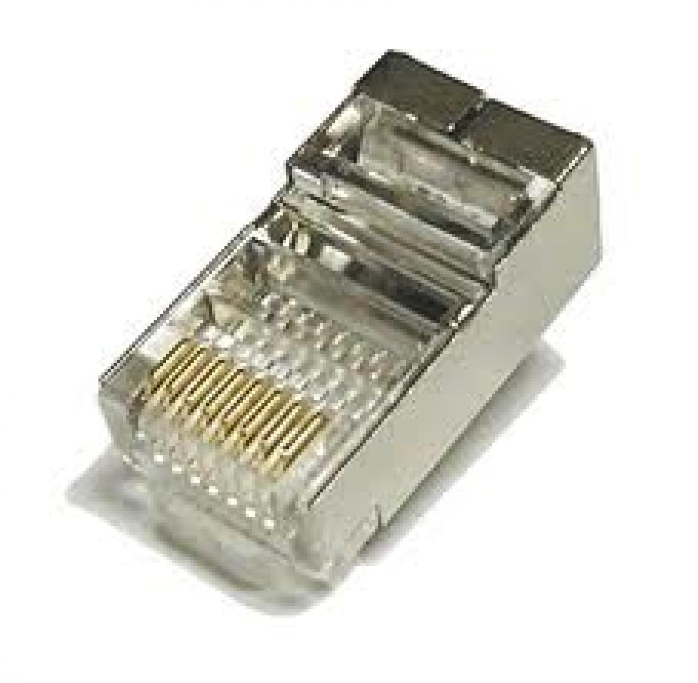 High Quality RJ45 Shielded Plug Cat5 8P8C Lan Connector Network