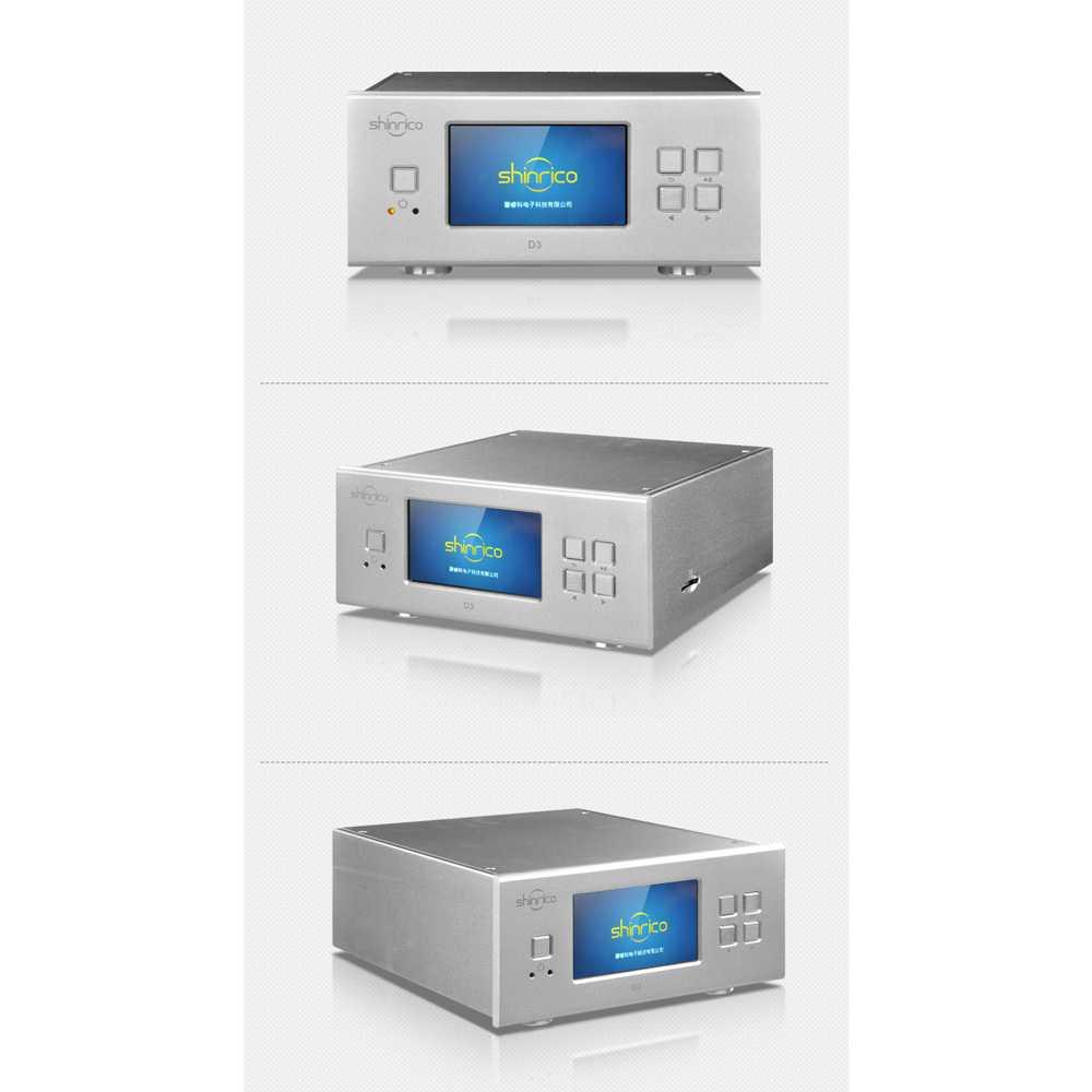 Shinrico D3 Digital Turntable Music Player