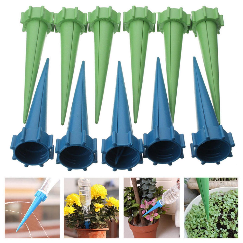 Автополив комнатных растений с помощью медицинских 60