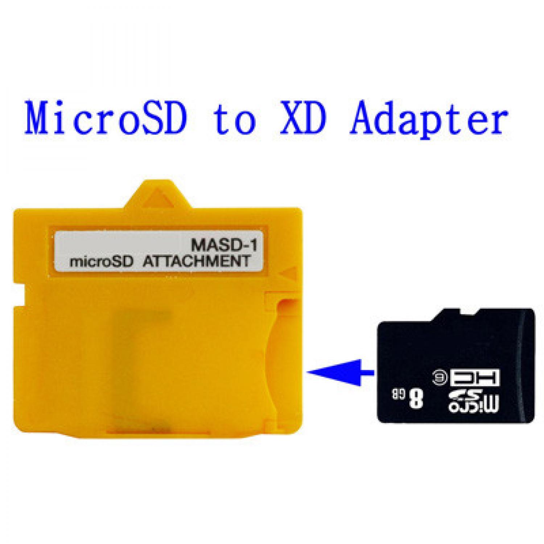 MicroSD TF Card Card to XD Card Adapter MASD-1