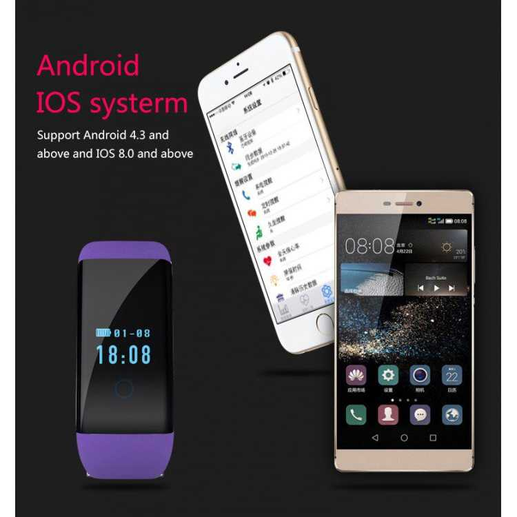 SKMEI Smartwatch Wristband LED - D21